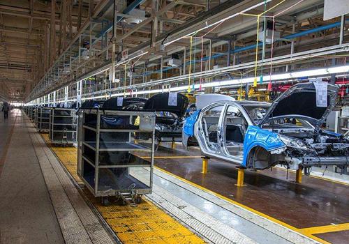 汽车制造厂通风降温方案设计安装工程效果图