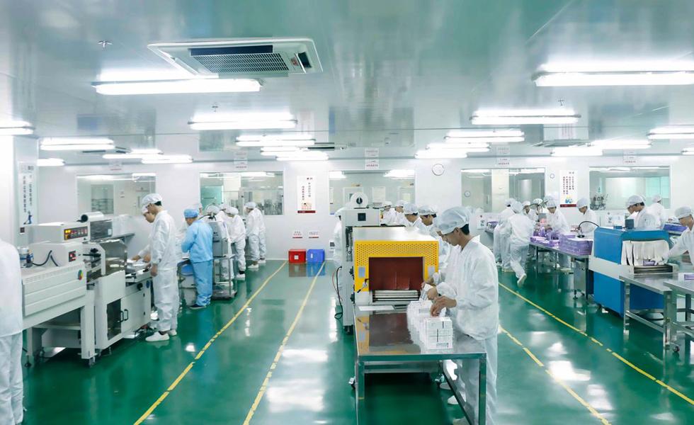 日化用品厂通风降温方案设计安装工程效果图