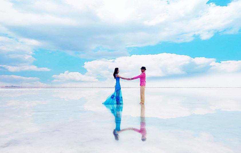 盐湖婚纱1