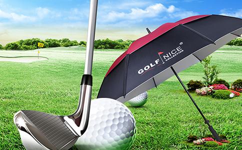 精品广告高尔夫伞