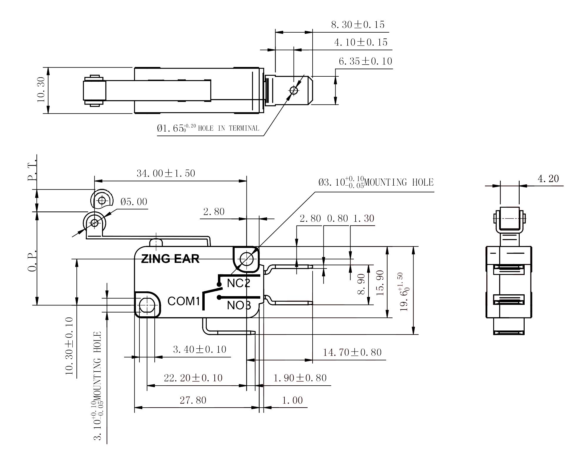 Drawing_G5T16-C1Z200A114-B_Rev_A0