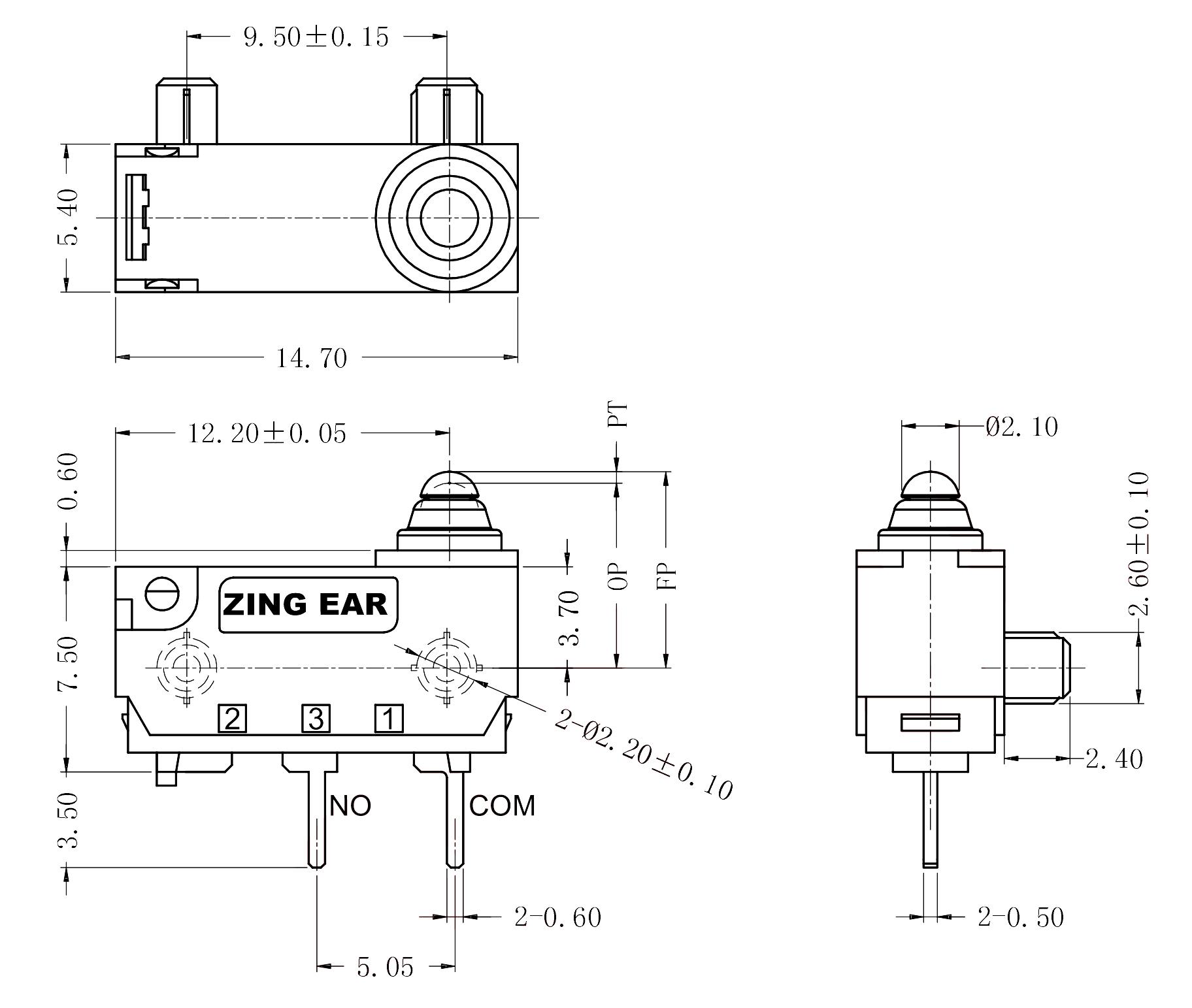 Drawing_G303-130P00C29C_Rev_A0