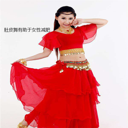 肚皮舞有助于女性肚子减肥