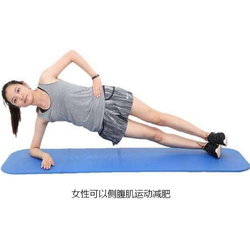 侧腹肌训练减肥