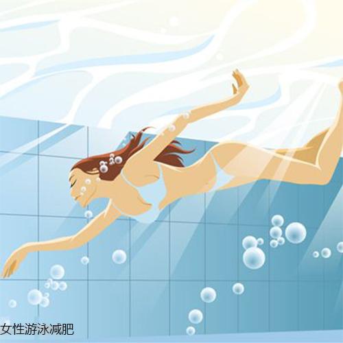 女性游泳运动减肥