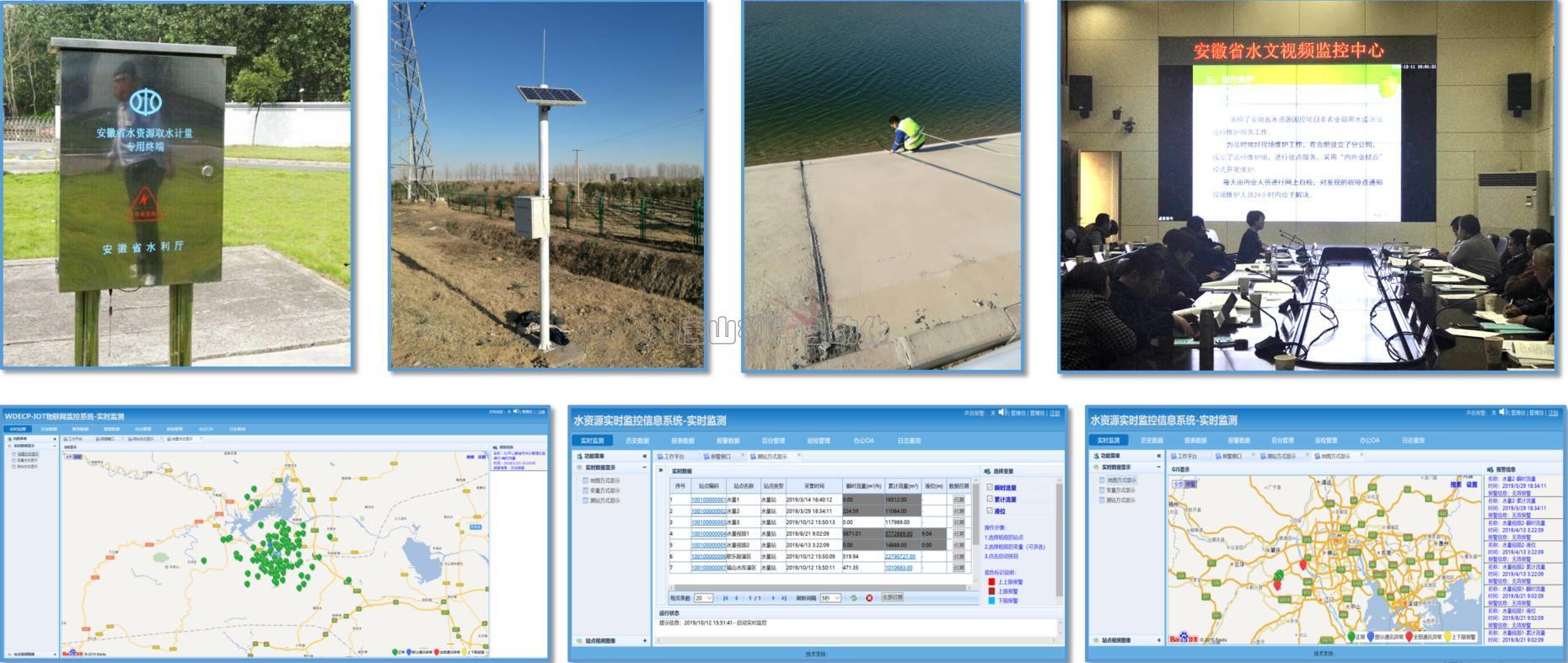水资源监控管理系统应用-流量水位