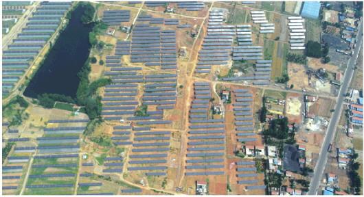 新泰西张庄:100兆瓦光伏项目蔚为壮观2