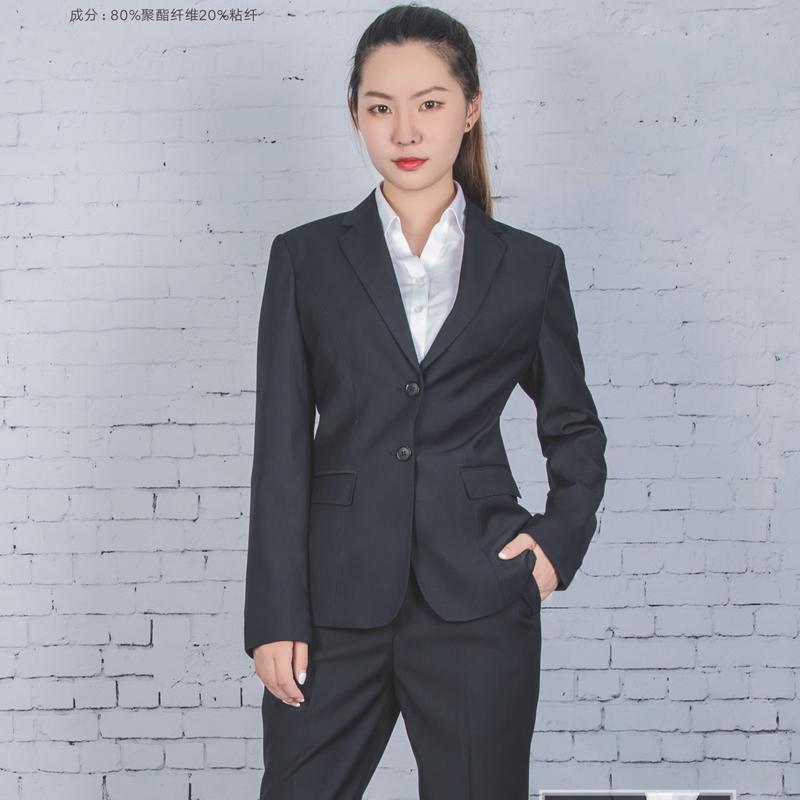 平湖商务职业装女西服