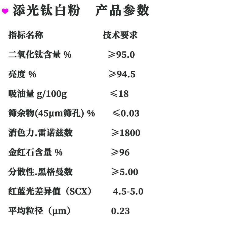 添光钛白粉36-6