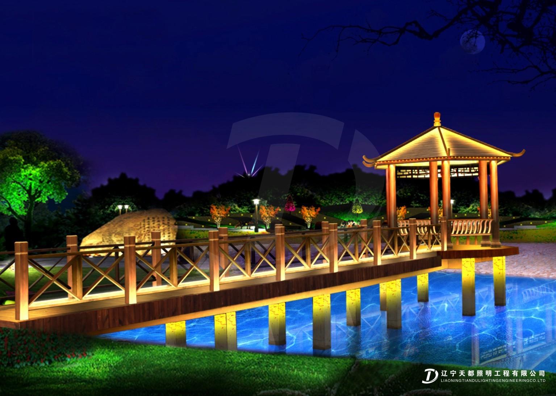道桥-苹果园夜景