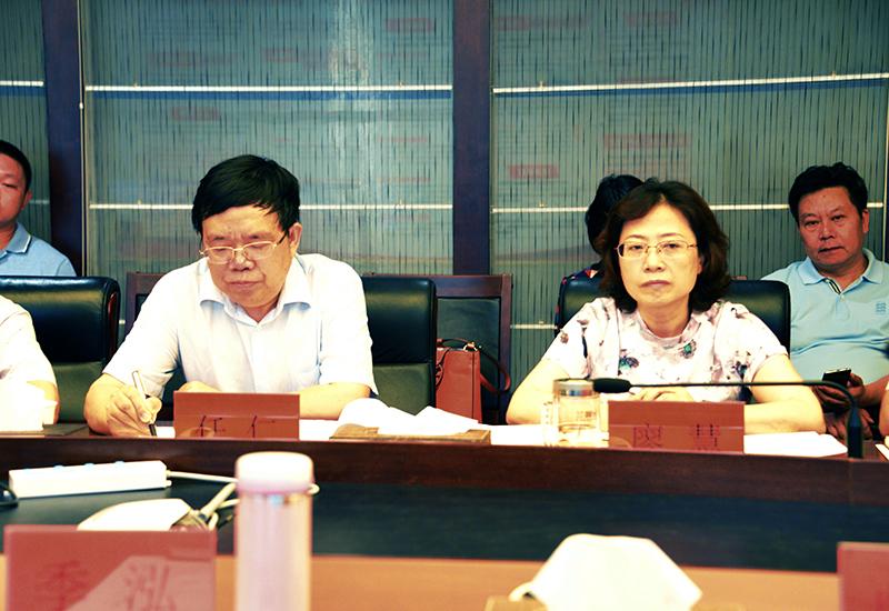 贵州省商务厅季泓厅长一行赴现代物流集团调研指导工作-0002