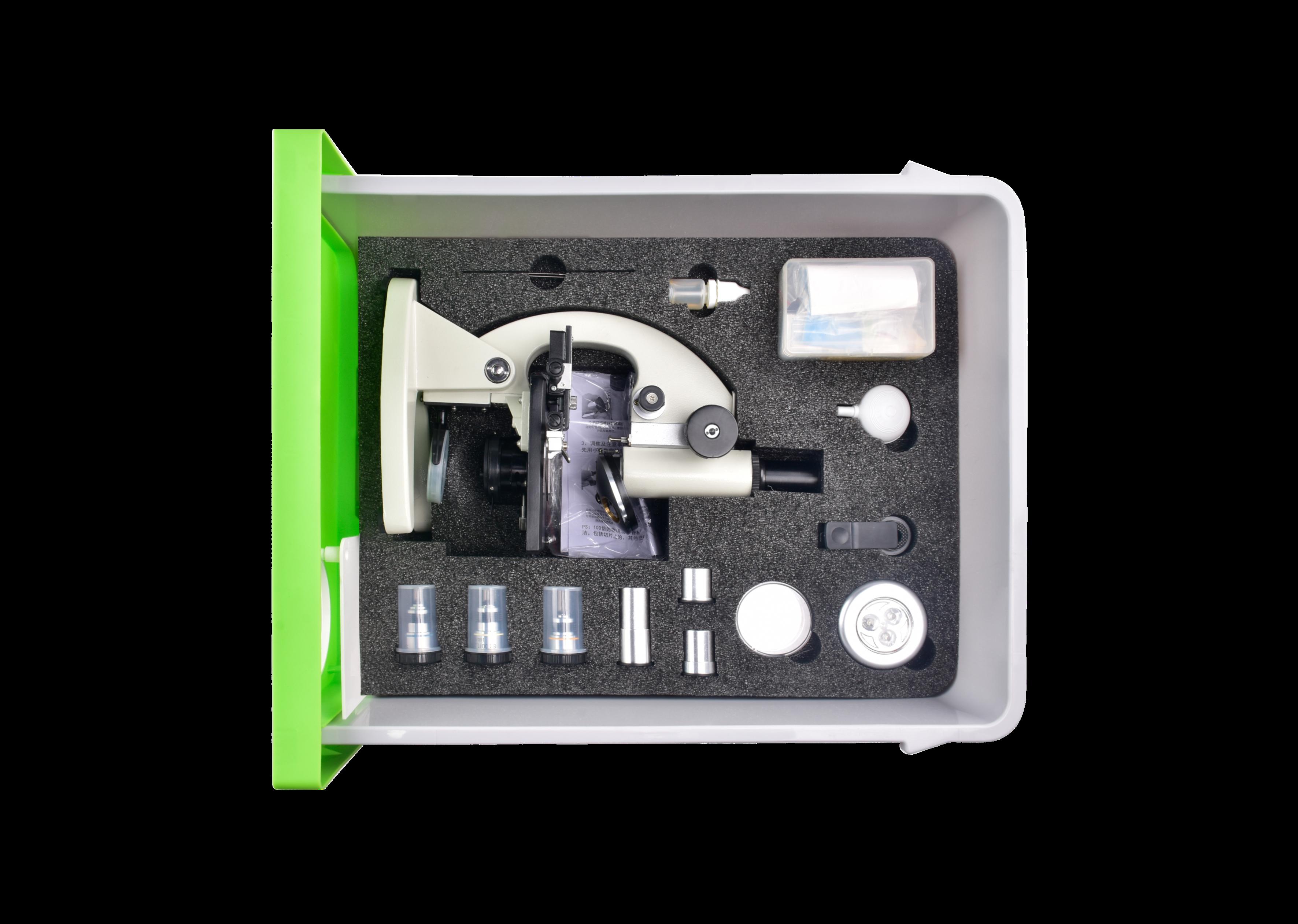 高中生物实验箱-抽屉式新课标-显微镜