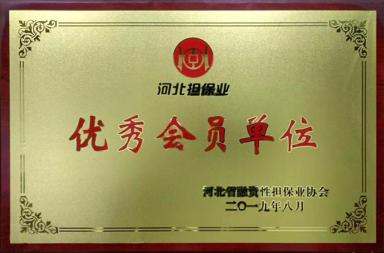 省担保协会优秀会员单位