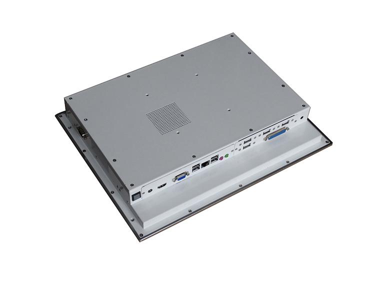 15寸嵌入式工业平板电脑产品实物图