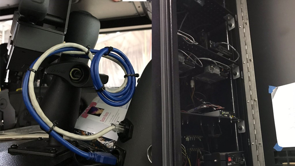 玮盈加固平板电脑在消防车的应用