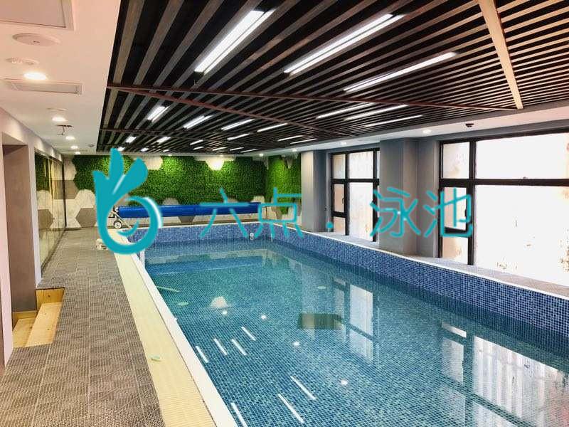 辽宁泳池完工图