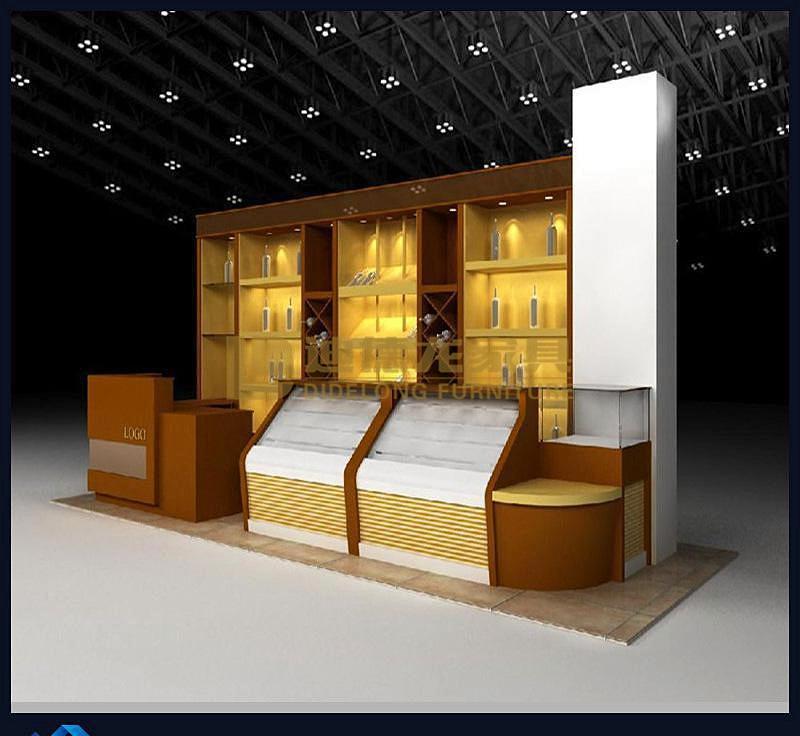 烟酒店展示柜-2