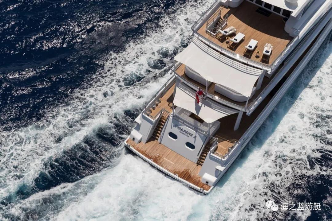 遨慕世VOLPINI2:全球首艘符合TierIII标准的混合动力超级游艇-2