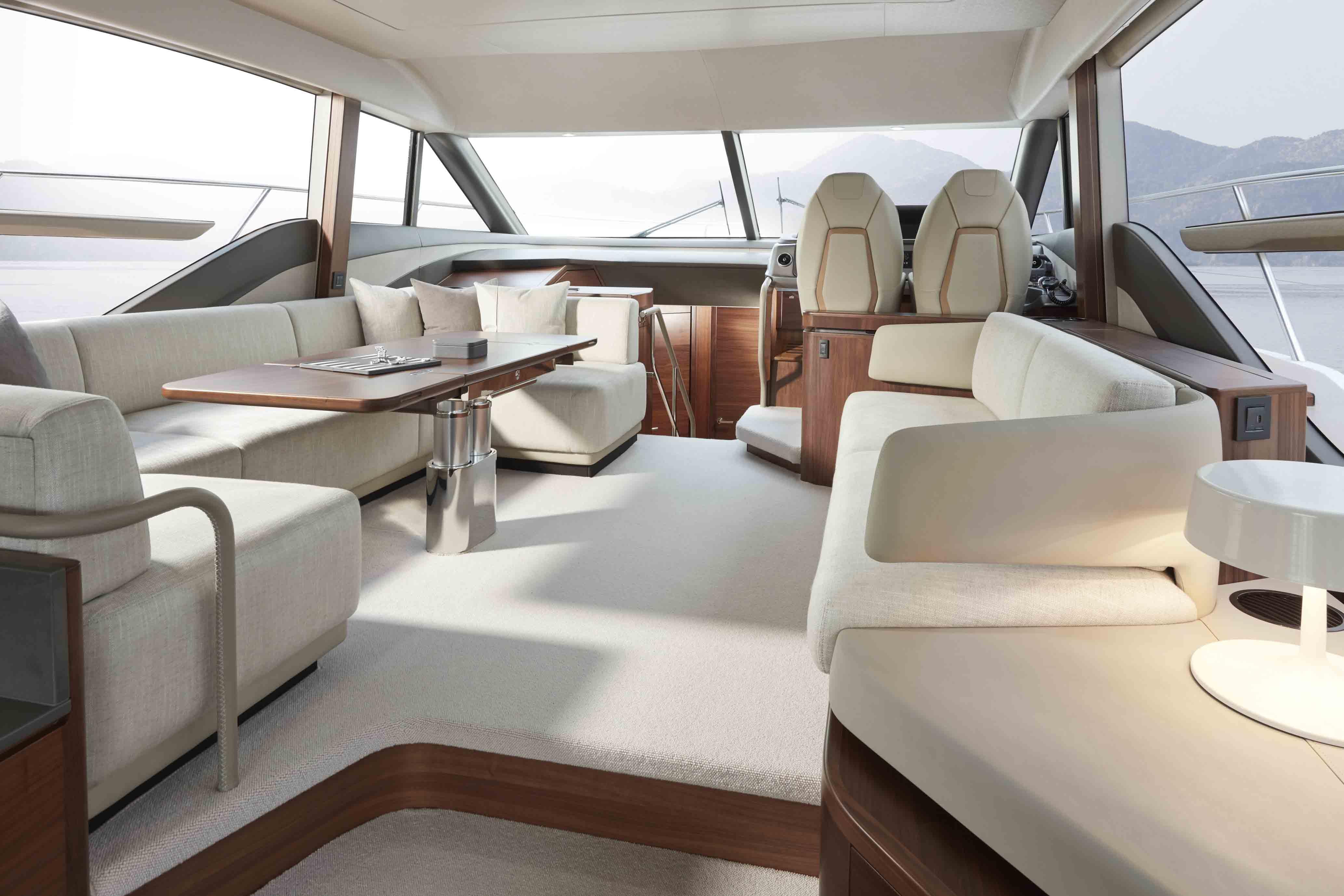 公主F55-55-interior-saloon-seating-walnut-satin