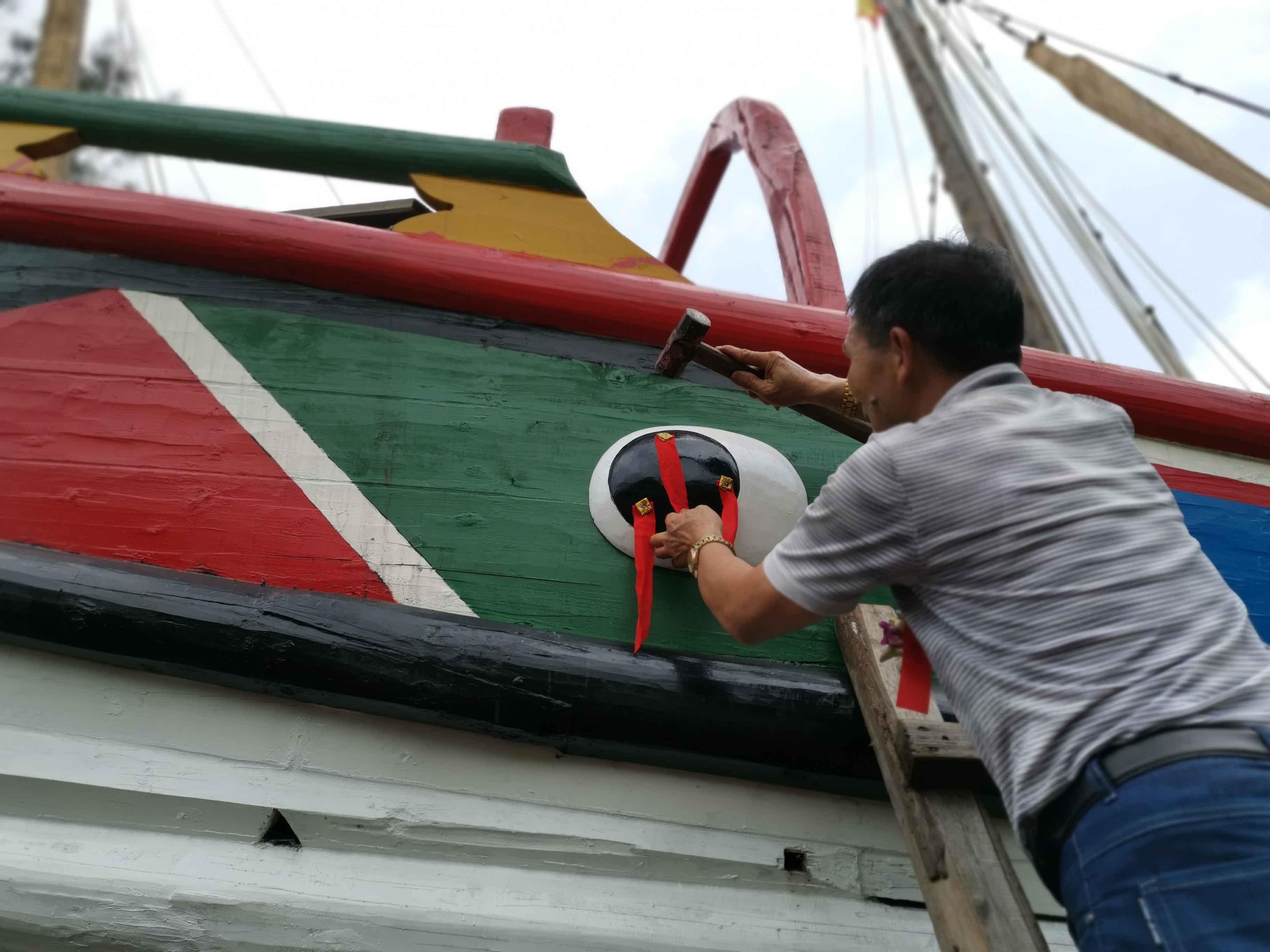 翘首以盼,中式帆船今日下水,即将重走海上丝绸之路!-12