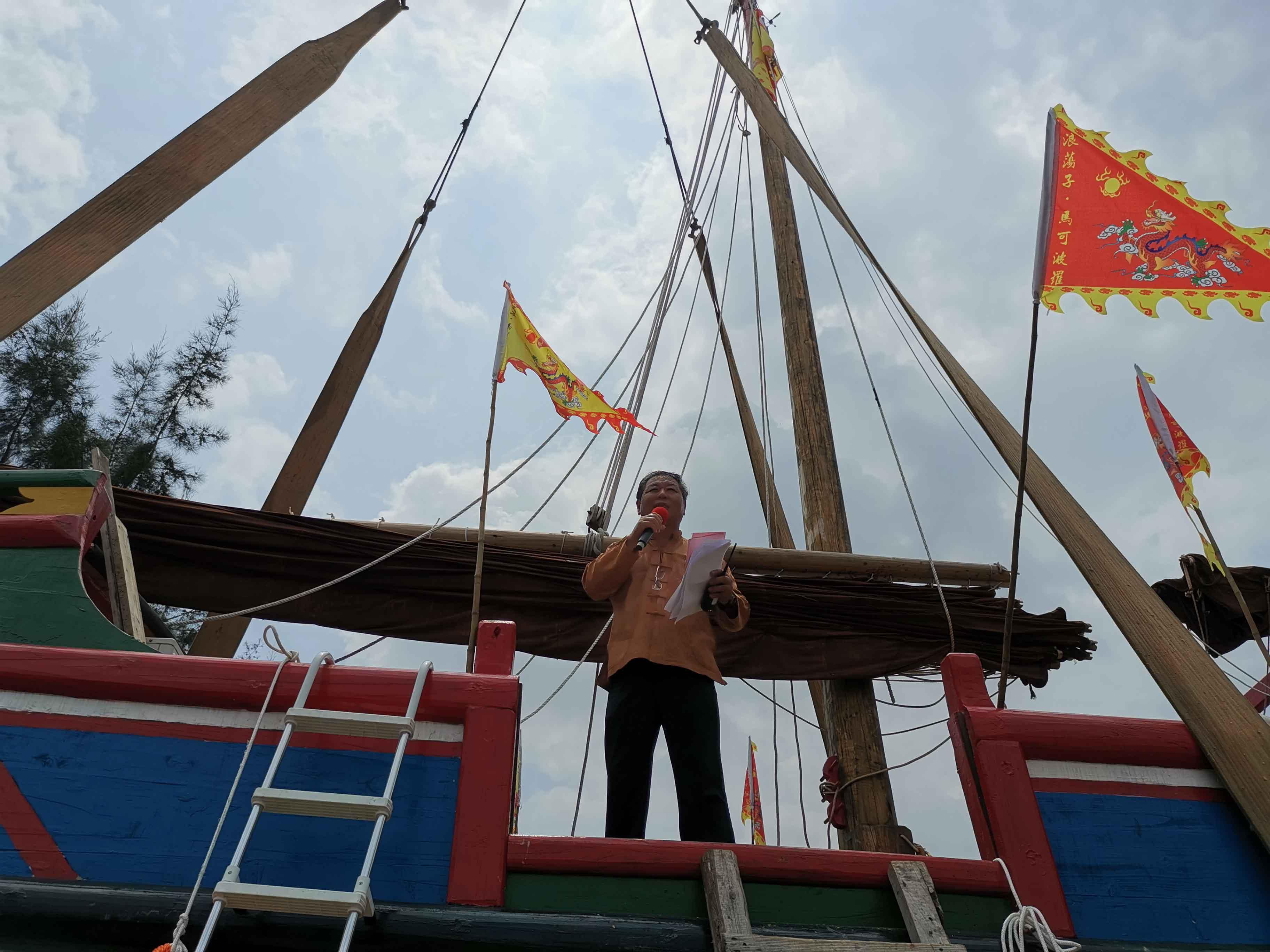翘首以盼,中式帆船今日下水,即将重走海上丝绸之路!-15