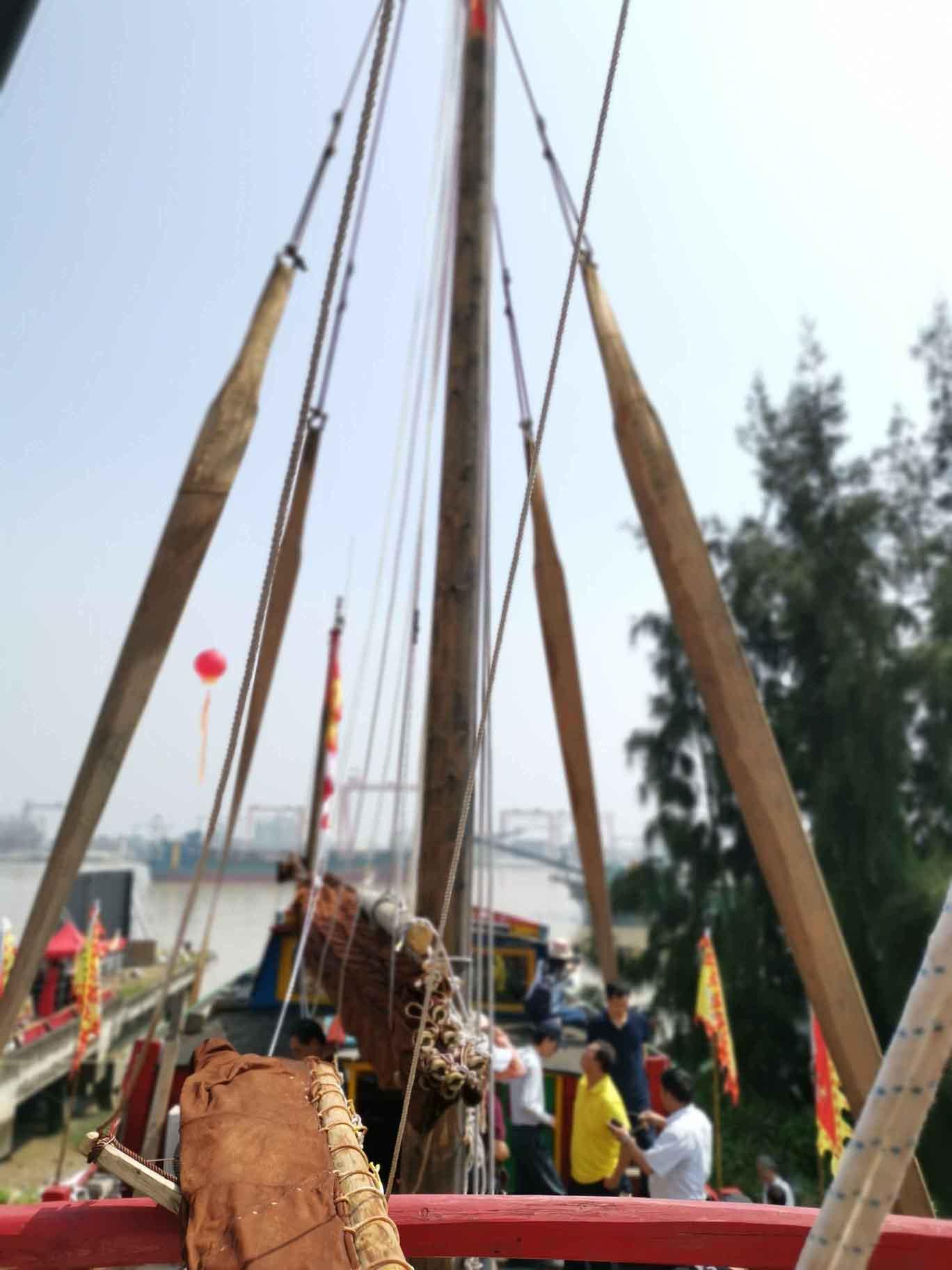 翘首以盼,中式帆船今日下水,即将重走海上丝绸之路!-21