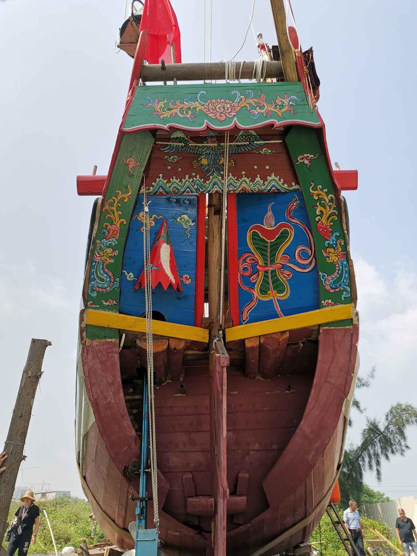 翘首以盼,中式帆船今日下水,即将重走海上丝绸之路!-23