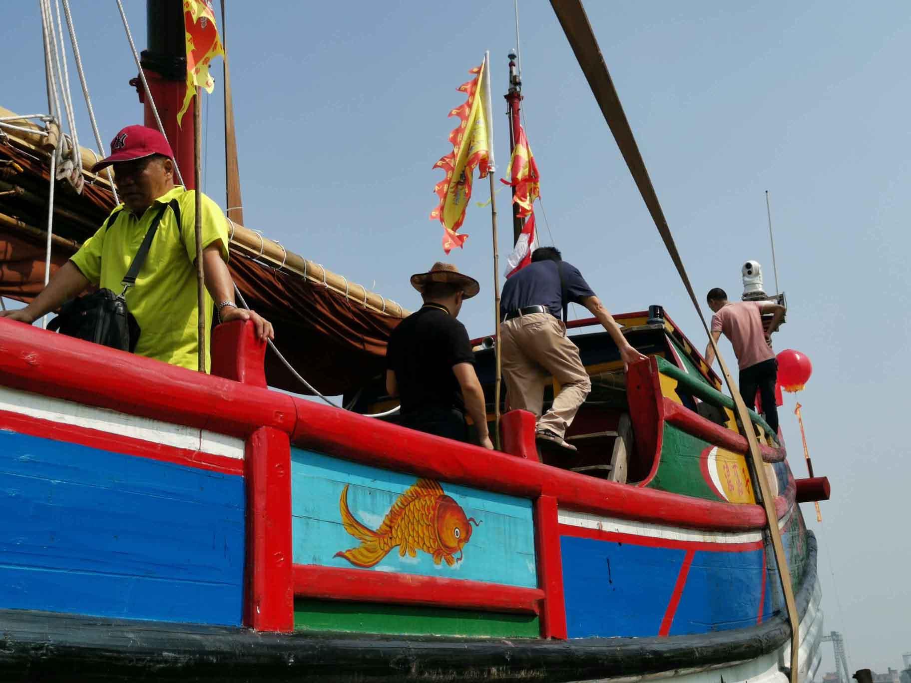 翘首以盼,中式帆船今日下水,即将重走海上丝绸之路!-24