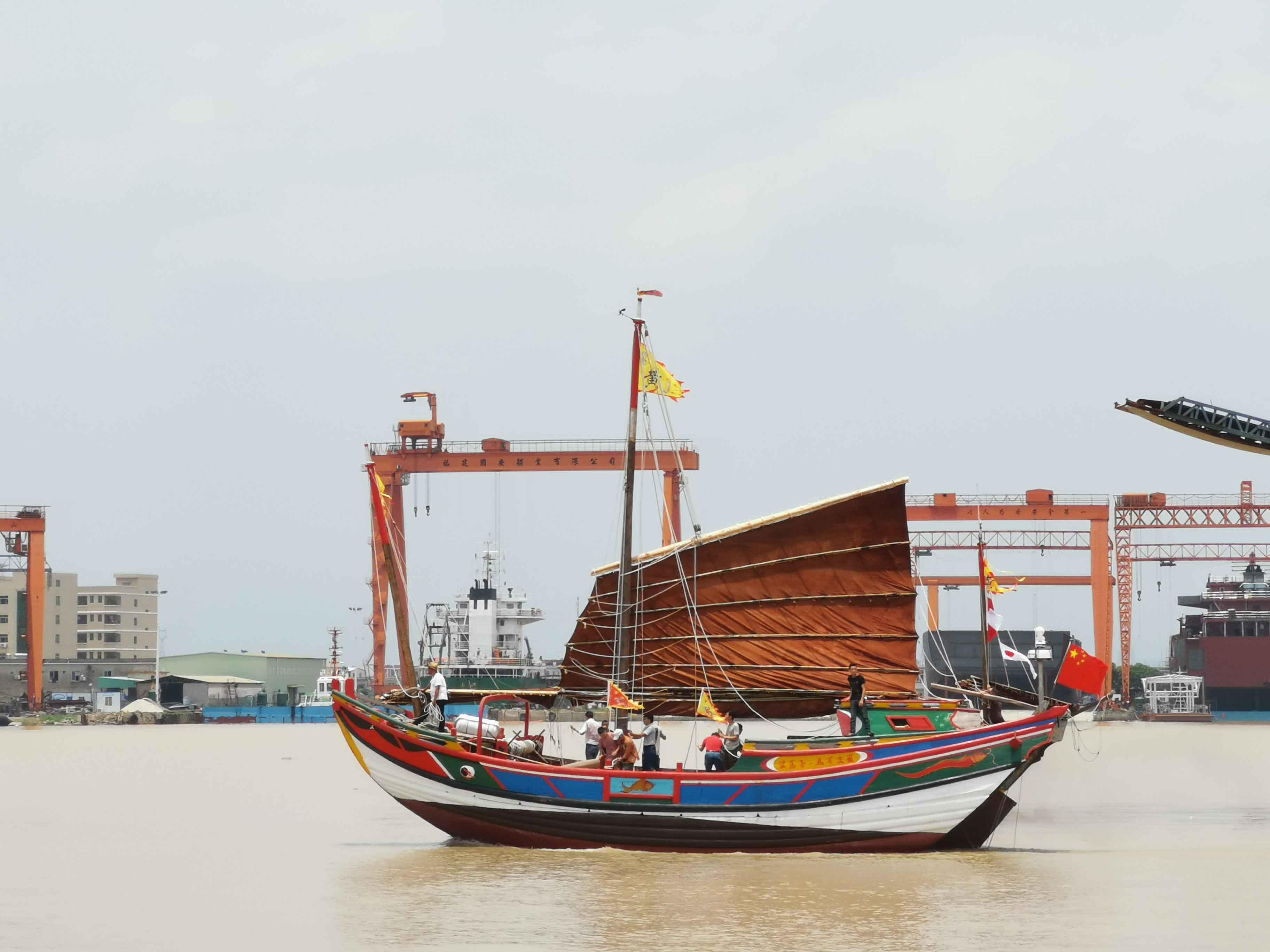 翘首以盼,中式帆船今日下水,即将重走海上丝绸之路!-32