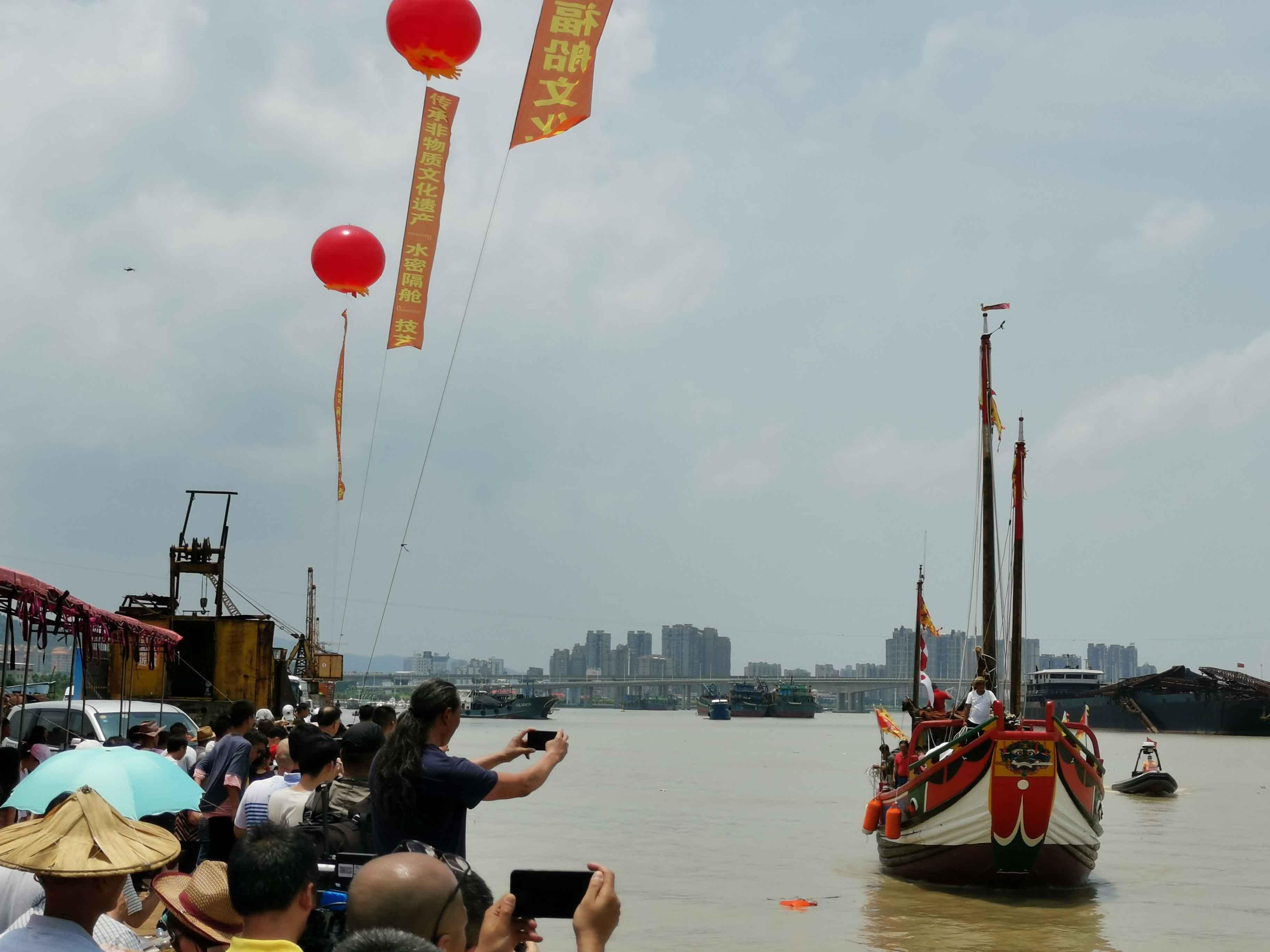 翘首以盼,中式帆船今日下水,即将重走海上丝绸之路!-33