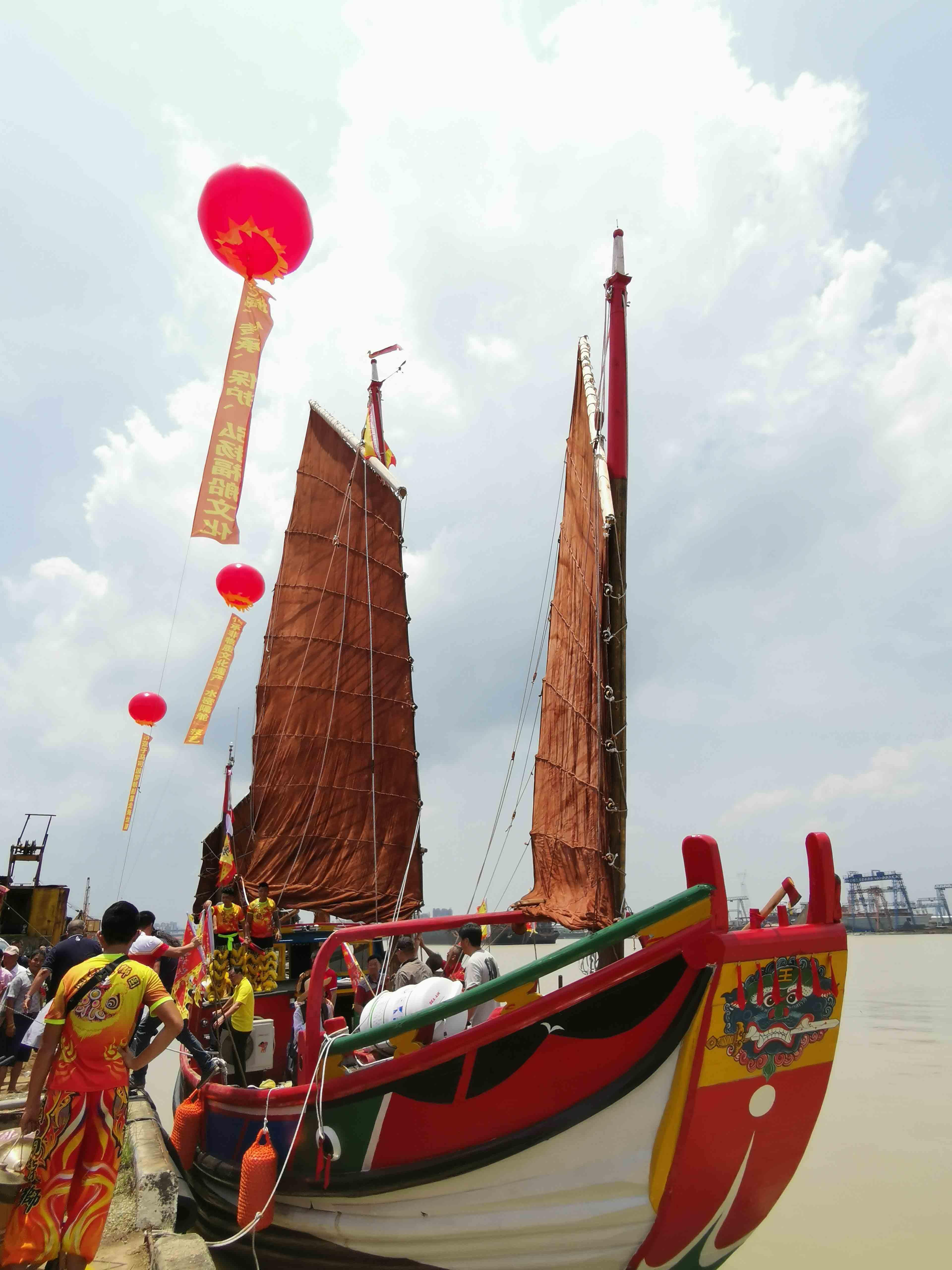 翘首以盼,中式帆船今日下水,即将重走海上丝绸之路!-40