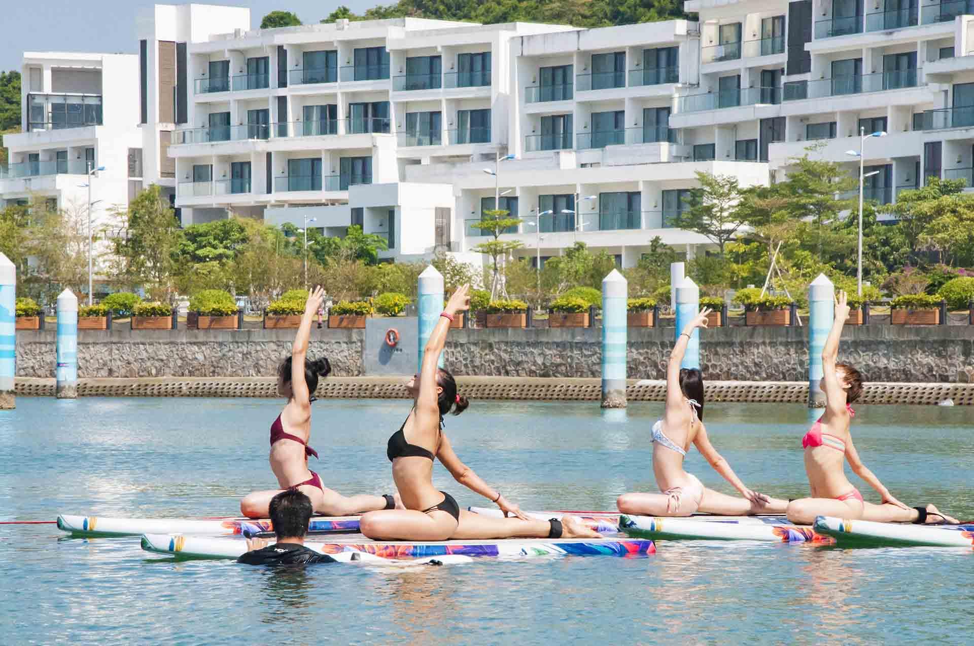 桨板瑜伽-5