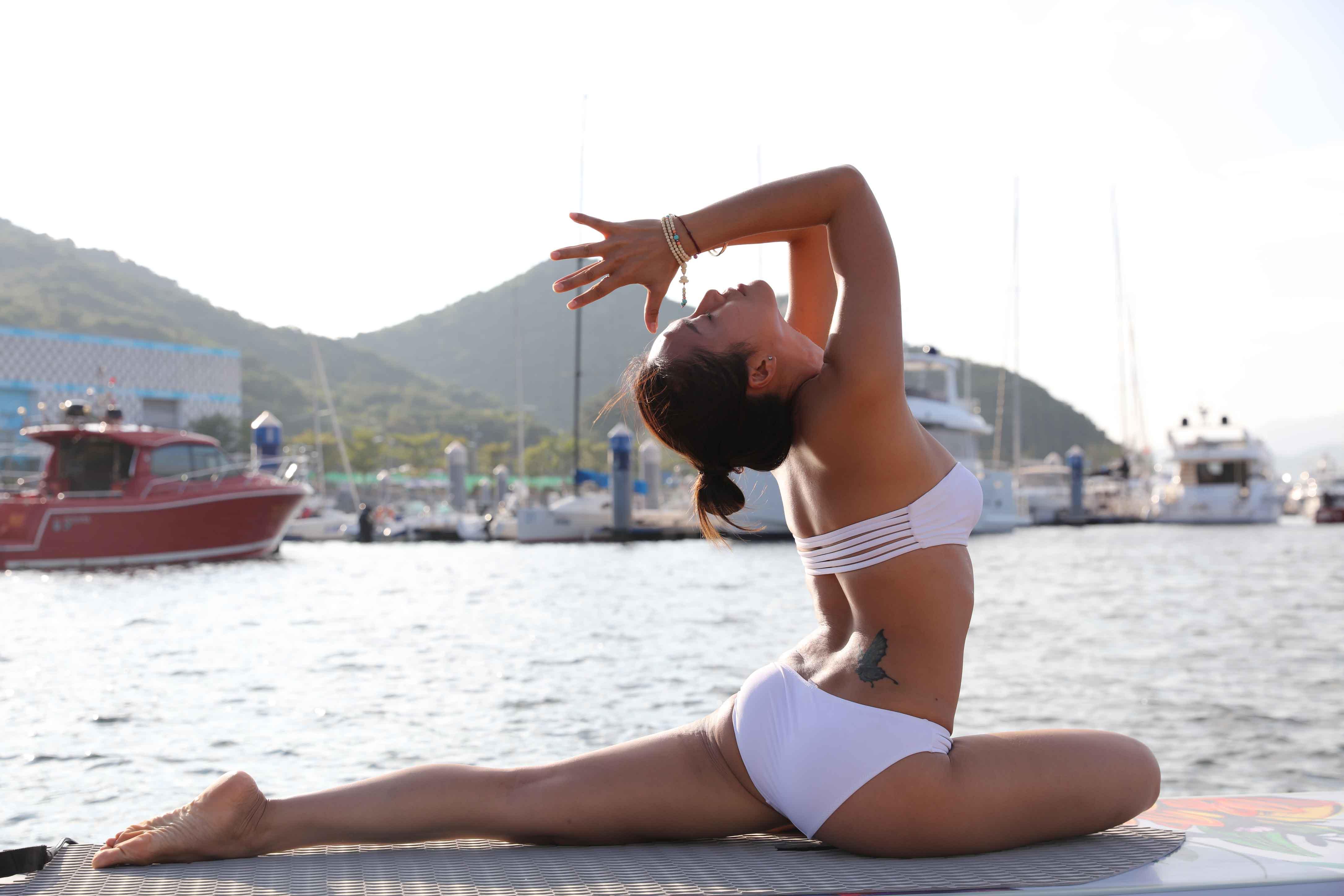 桨板瑜伽-7