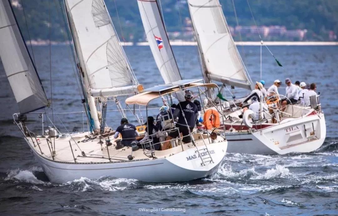 泰王杯帆船赛-1