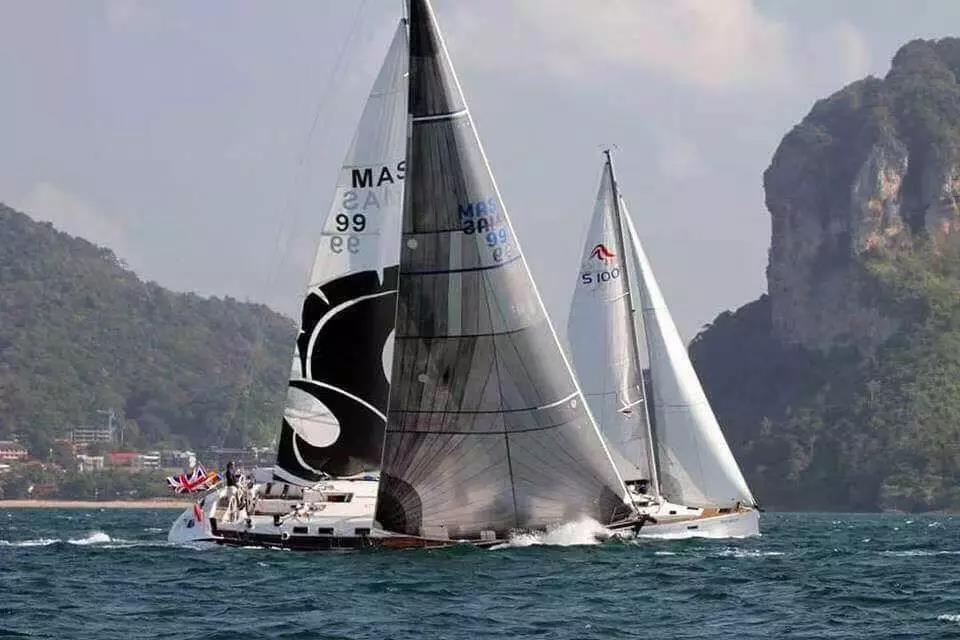 泰王杯帆船赛-5