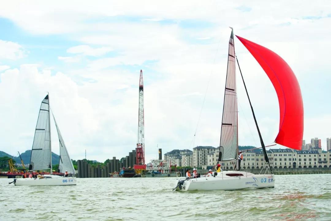 广州南沙帆船夏季赛-2