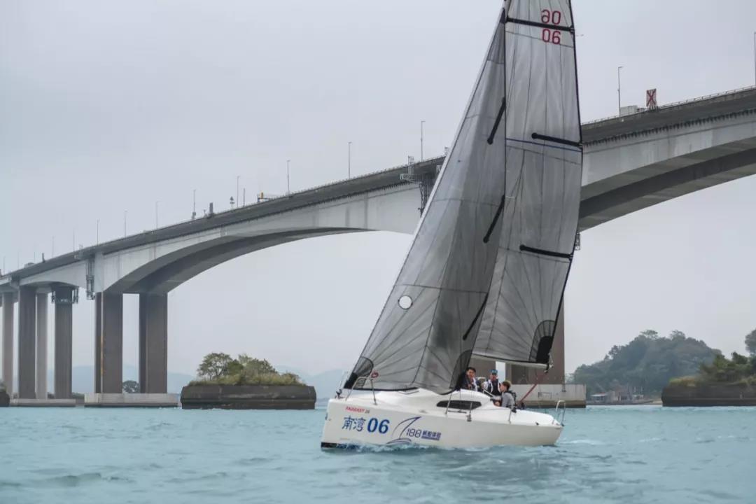 广州南沙帆船夏季赛-3
