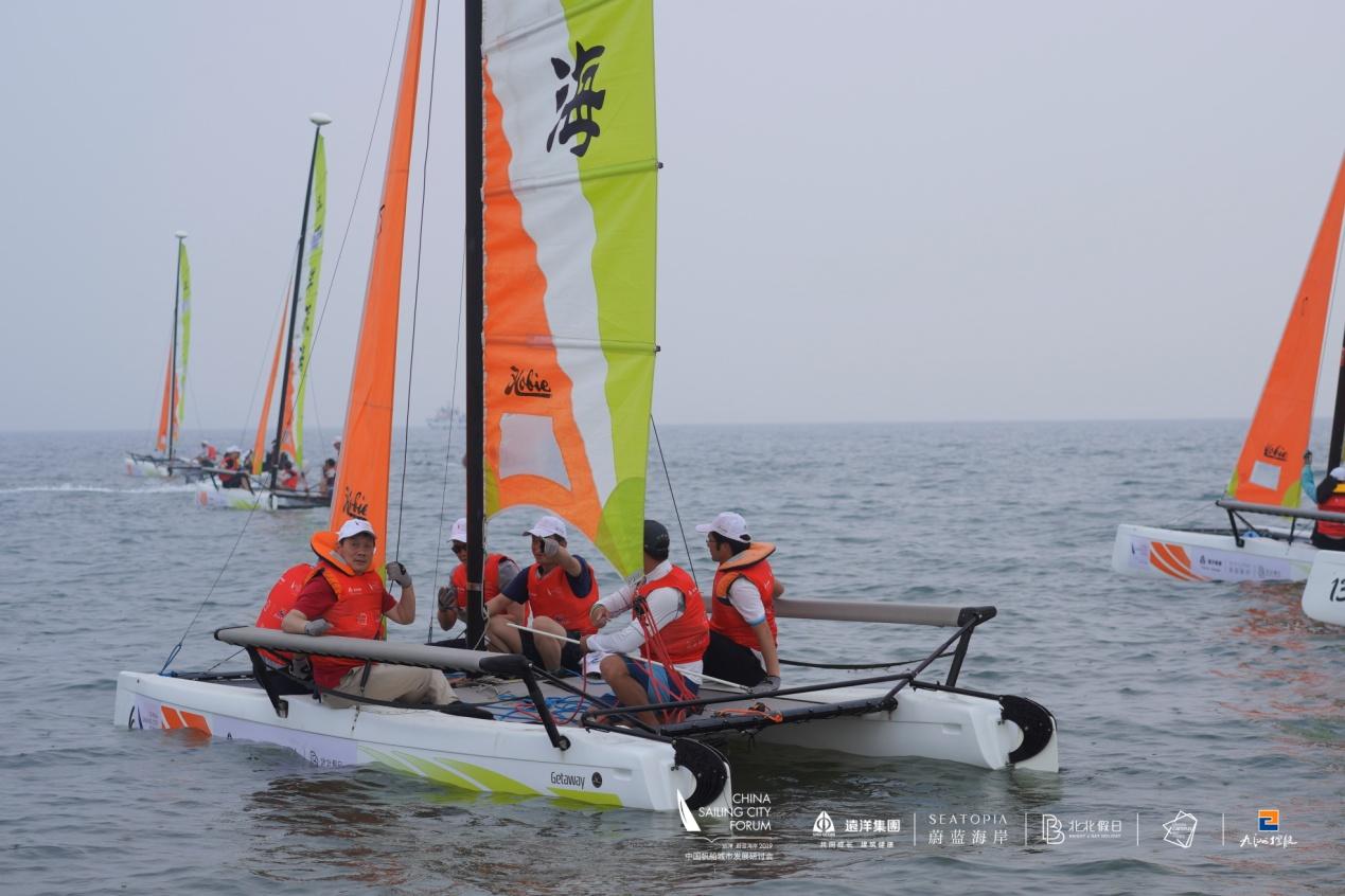 """2019中国城市帆船论坛闭幕,市长们""""下海""""扬帆-2.files-image014"""