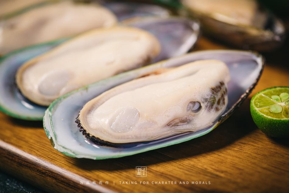 食品摄影-新西兰冷冻半壳青口贝4