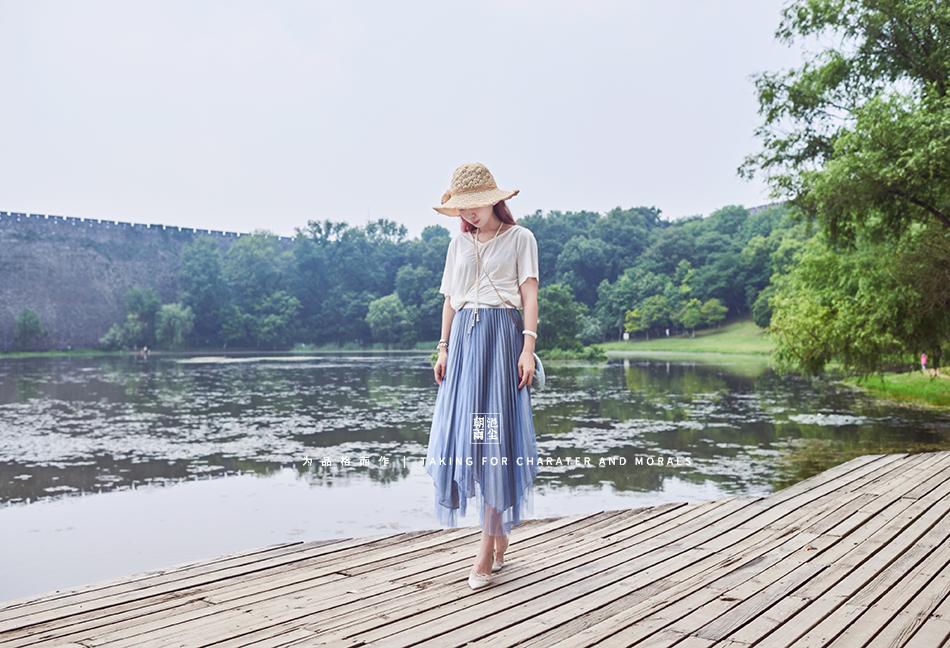 女装摄影-优雅清新套装系列2