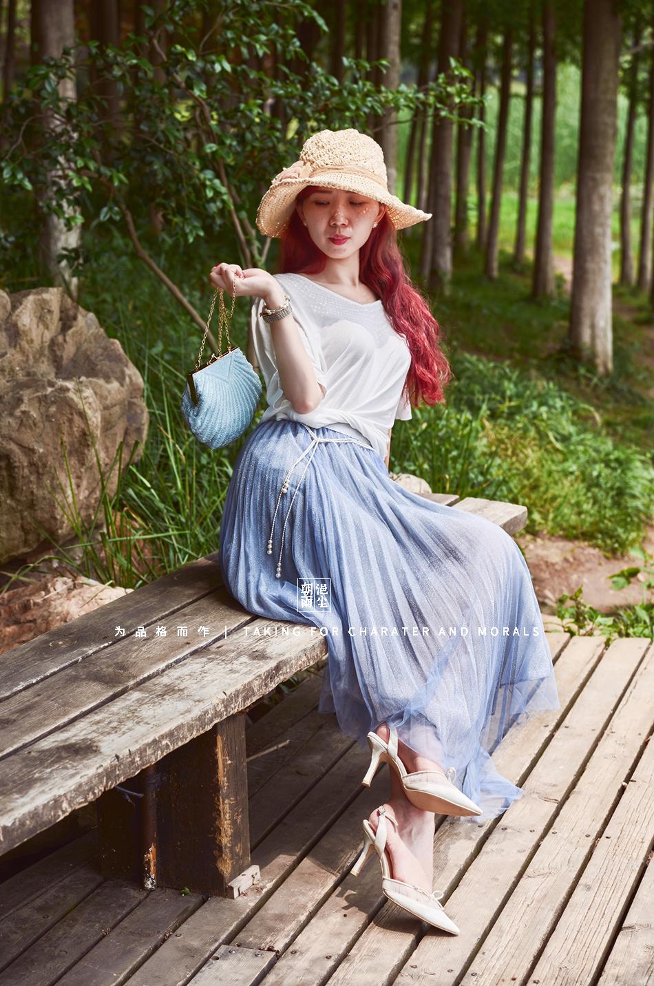 女装摄影-优雅清新套装系列3