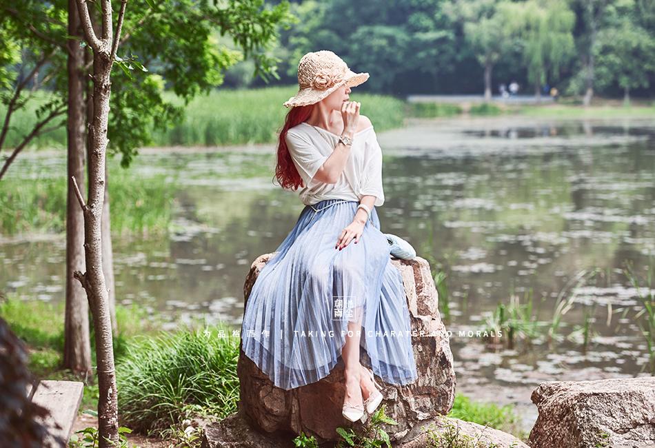 女装摄影-优雅清新套装系列5