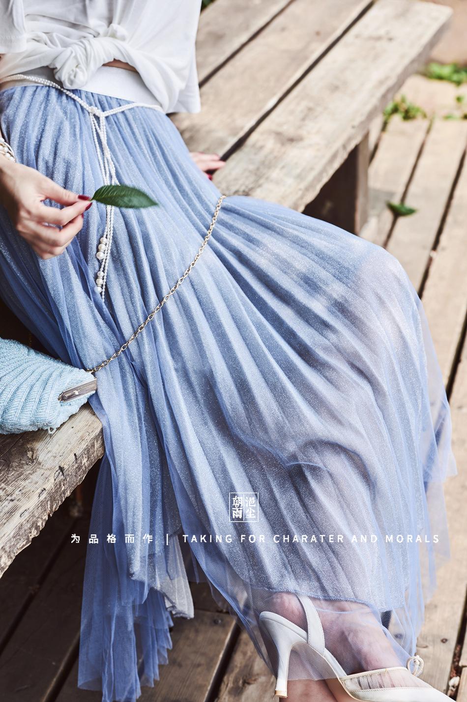 女装摄影-优雅清新套装系列7