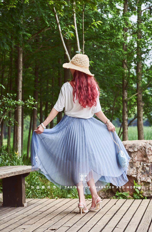 女装摄影-优雅清新套装系列8