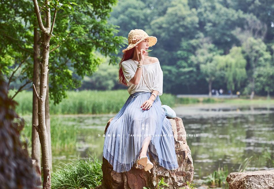 女装摄影-优雅清新套装系列9