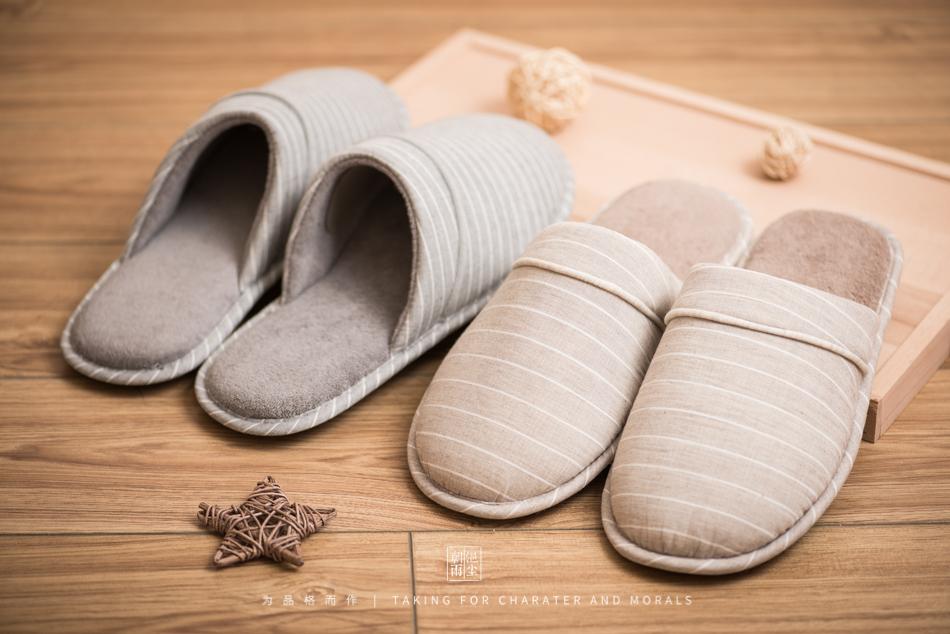 鞋帽摄影-小景家具棉拖鞋2