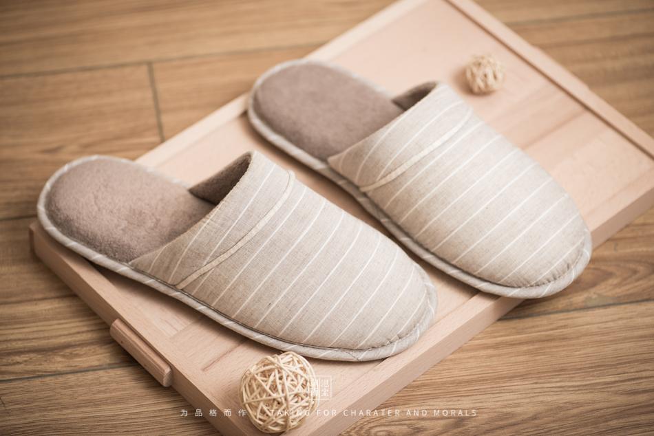 鞋帽摄影-小景家具棉拖鞋3