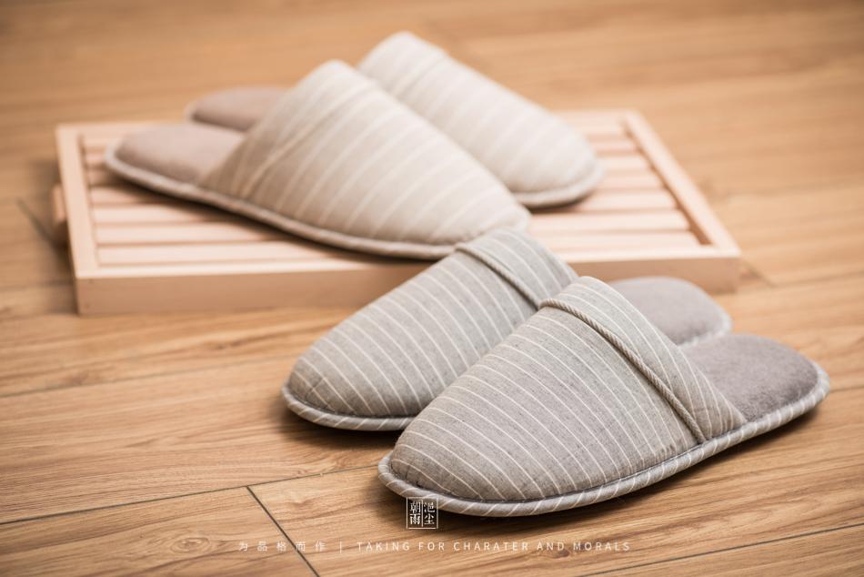 鞋帽摄影-小景家具棉拖鞋5