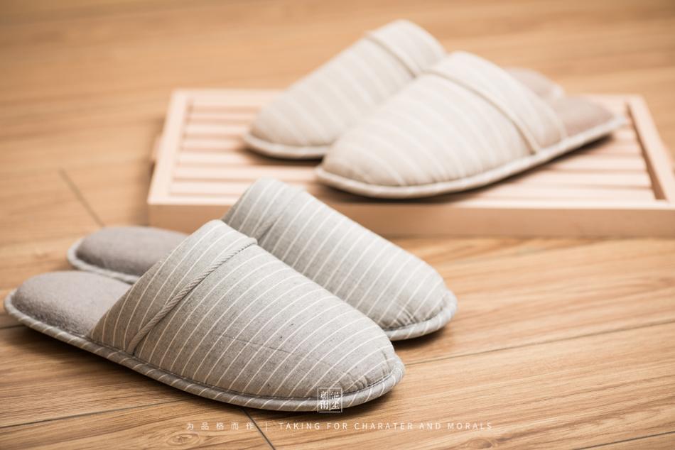 鞋帽摄影-小景家具棉拖鞋6