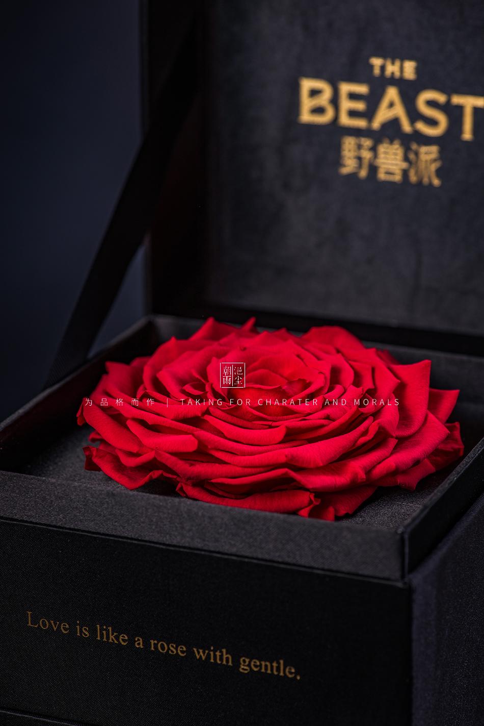 产品摄影-BEAST野兽派永生花情人节系列3